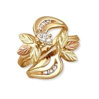 Landstrom's 14K Black Hills Gold .37Tw Diamond Engagement ...