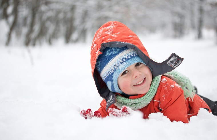 Boy in Snow