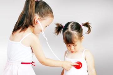 kids health playing doctor