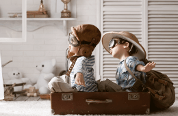 Travel Boys Imagination