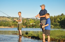 Dad's Life Fishing with Sons