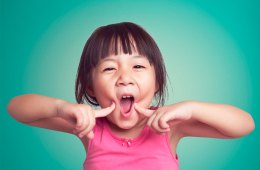 Cute Girl Funny Face
