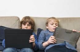 Boys on Tablets