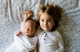 Baby and Sibling