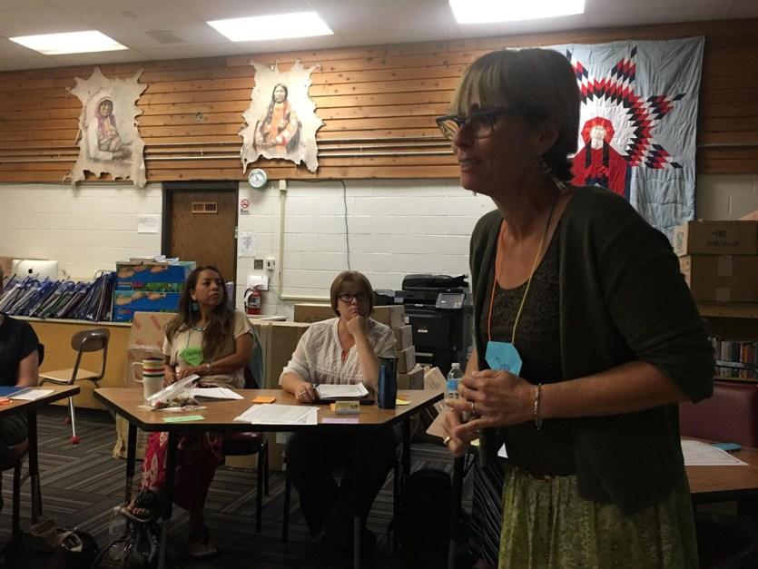 Native American Class- Teacher