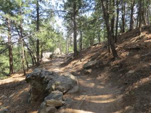 M Hill trail, Rapid City, SD