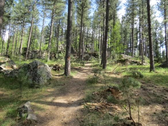 The Maze trail South Dakota