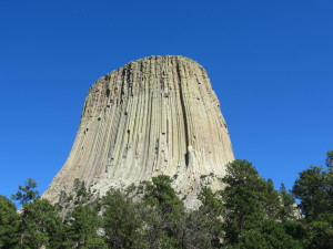 Devils Tower in Devils Tower, WY