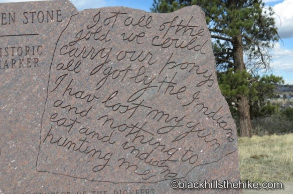 Writing on Thoen Stone SD