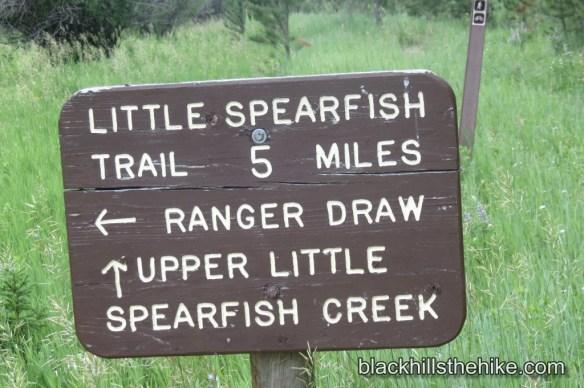 Little Spearfish Trail Trailmarker