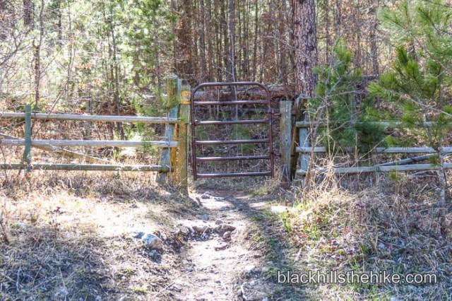 Crow Peak Gate