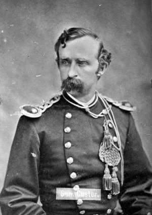 Lt. Col. George Armstrong Custer (1839-1876)