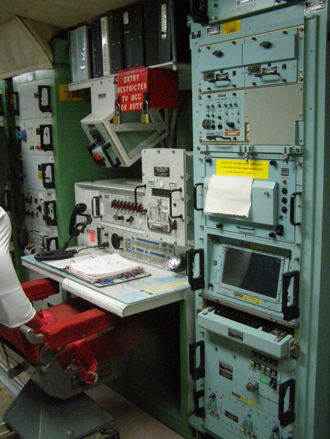 Launch Command Stations for Delta-1 Wing at Minuteman Missile National Historic Site