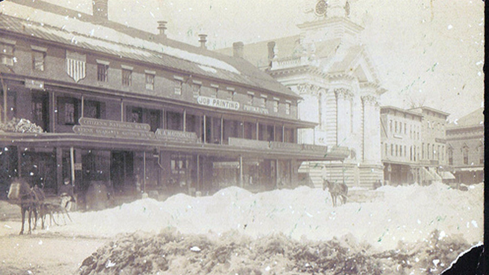 The Schoolhouse Blizzard Of 1888 Black Hills Visitor