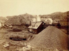 Mills and mines.' Part of the Homestake Mine, Lead, SD. 1889. By John C.H. Grabill