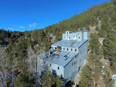 Abandoned Mine Building