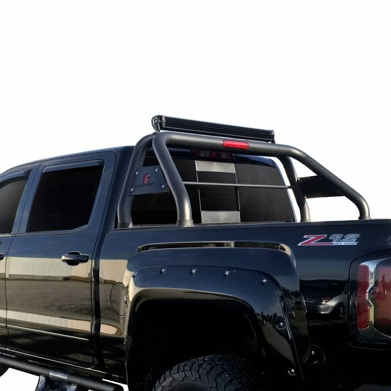 Roll Bar Rb Totab Black Fits 16 17 Toyota Tacoma