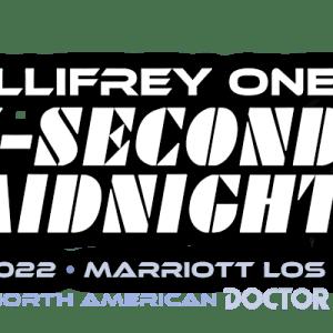 "Gallifrey One ""Thirty-Second to Midnight"" Logo"