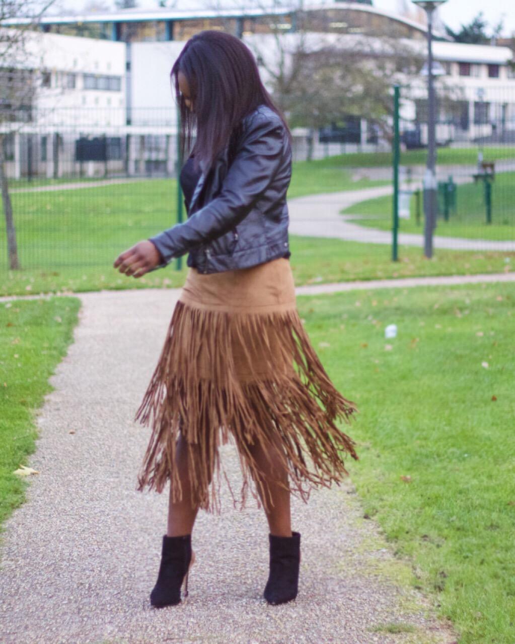 the fringe skirt