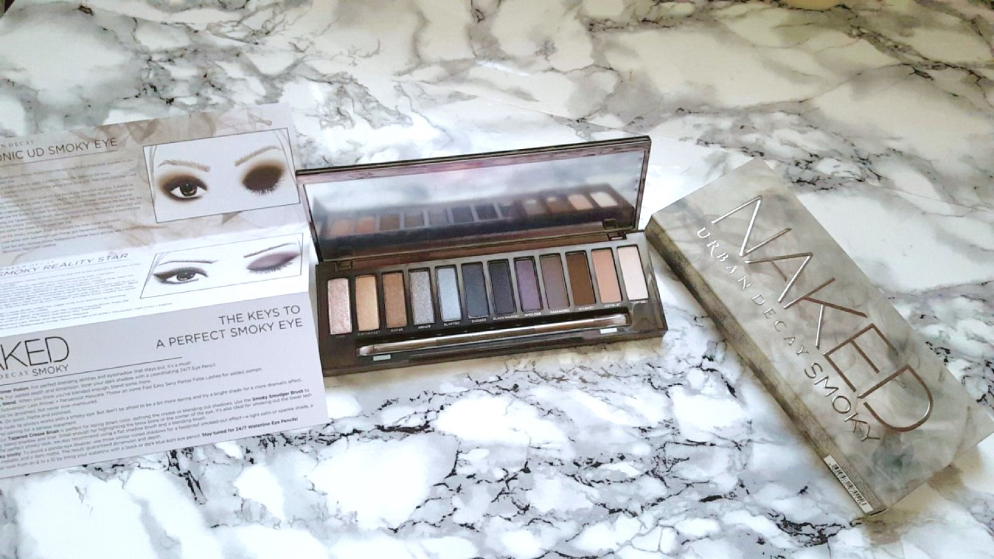 Urban Decay Smoky Eyes Palette