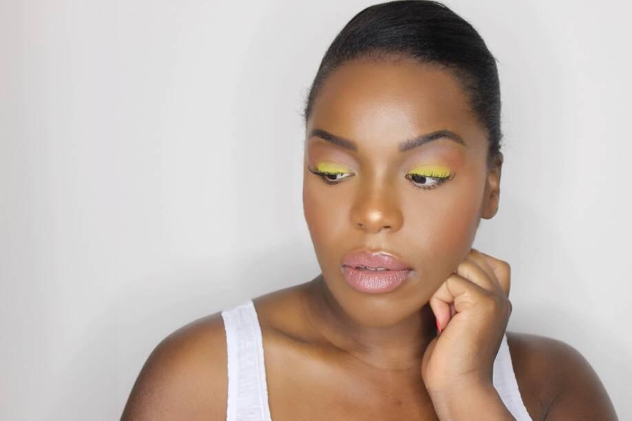 maquillage jaune