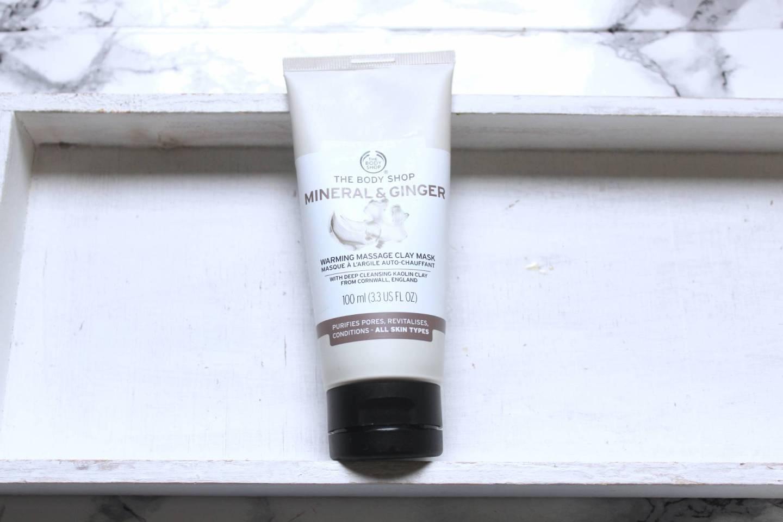 Masque à l'Argile Auto-Chauffant Mineral& Ginger THE BODYSHOP