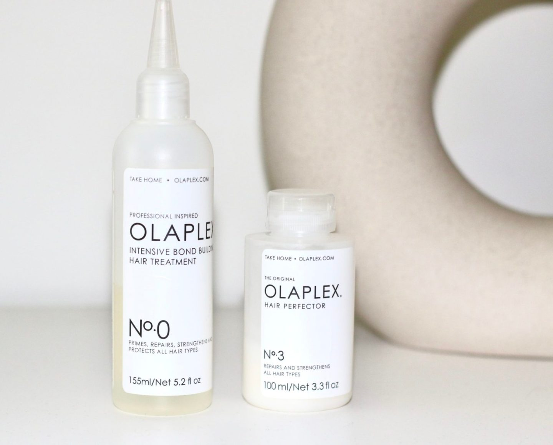 Olaplex n0 Intensive Bond Building Hair treatment Olaplex n3 Hair Perfector