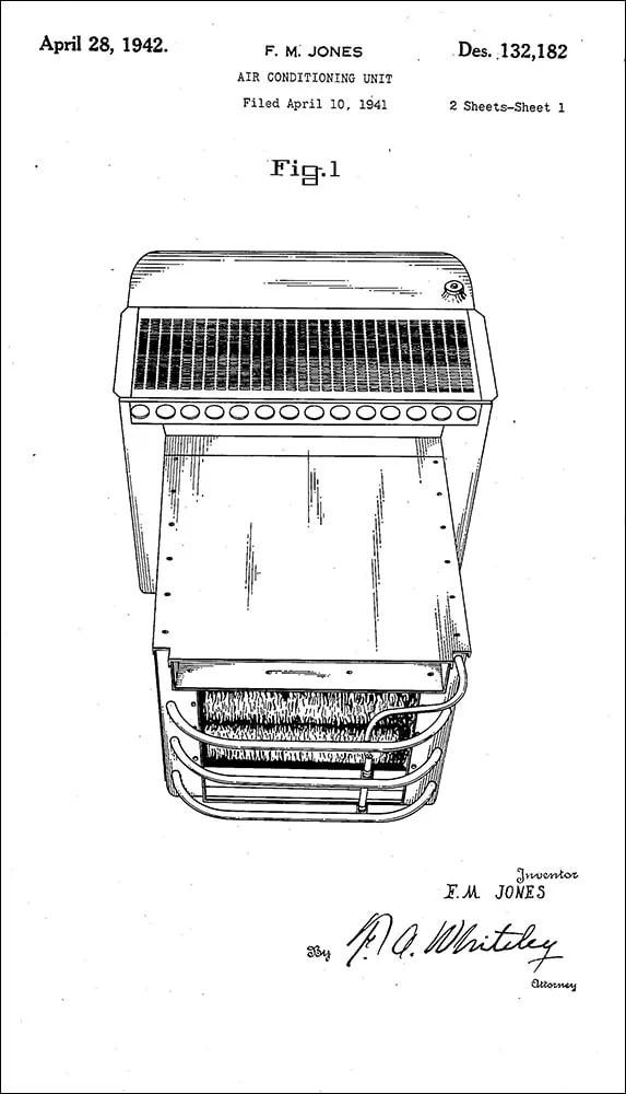 Air Conditioning Unit: Frederick M Jones Air Conditioning Unit