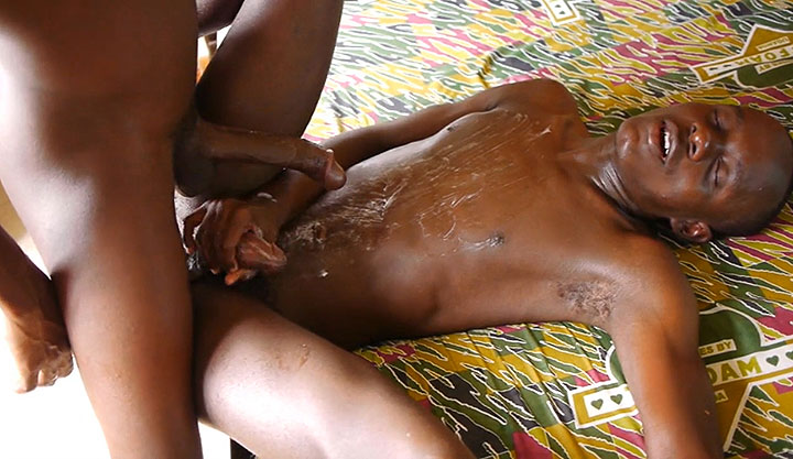 Horny African Boys Suck Fuck and Piss