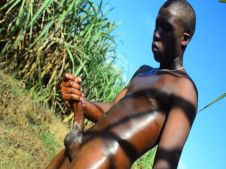 Horse Hung Nigerian Boy