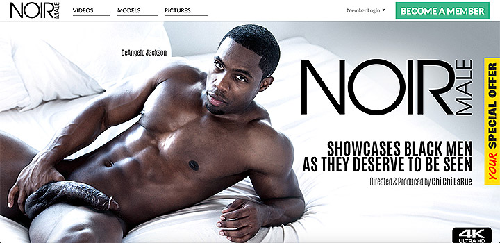 New Site NOIRMALE Now Open