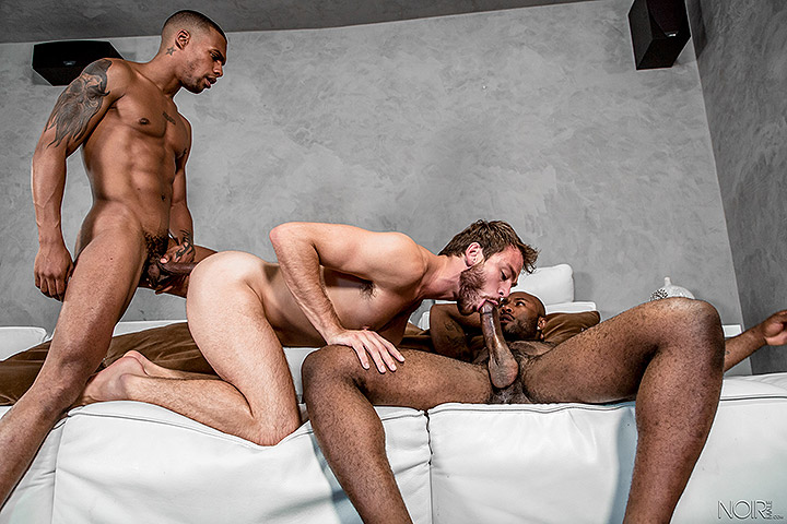 NOIRMALE: Stepbrother Three Way