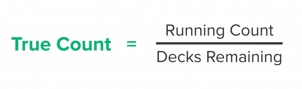 True Count and Deck Estimation