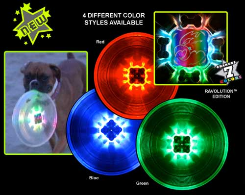 GROWLER™ Light-Up DOG FLYING DISC