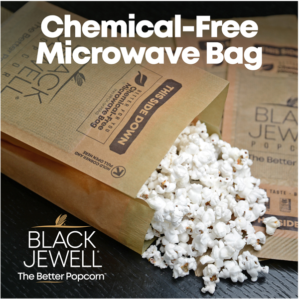 microwave black jewell popcorn no salt no oil