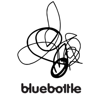 blue bottle logo