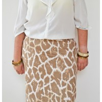 { NEW LOOK 6003 } The tame animal skirt...