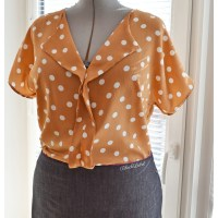 { LIESL & CO } The Weekend Getaway blouse...