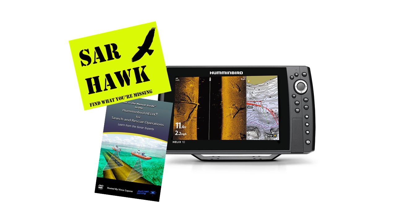 Humminbird® HELIX® 10 / SAR HAWK® Software / Training DVD / Accessory  Package