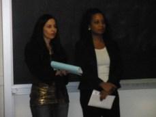 Melena ISBL Member & Melissa, VP, ISBL - UCLA