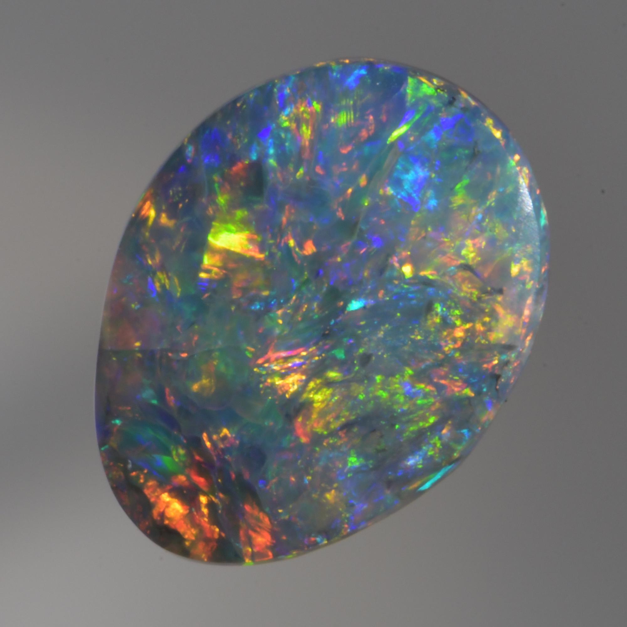 Solid Australian Lightning Ridge Opal