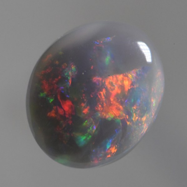2.00 CT Solid Natural Dark Opal Lightning Ridge Australia sb251