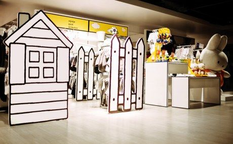 Brand Miffy 2d store design