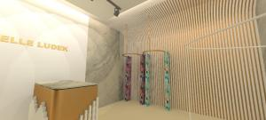 3d render interior design retail design
