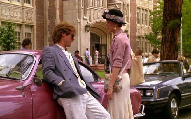 James Spader and Molly Ringwald in Pretty in Pink