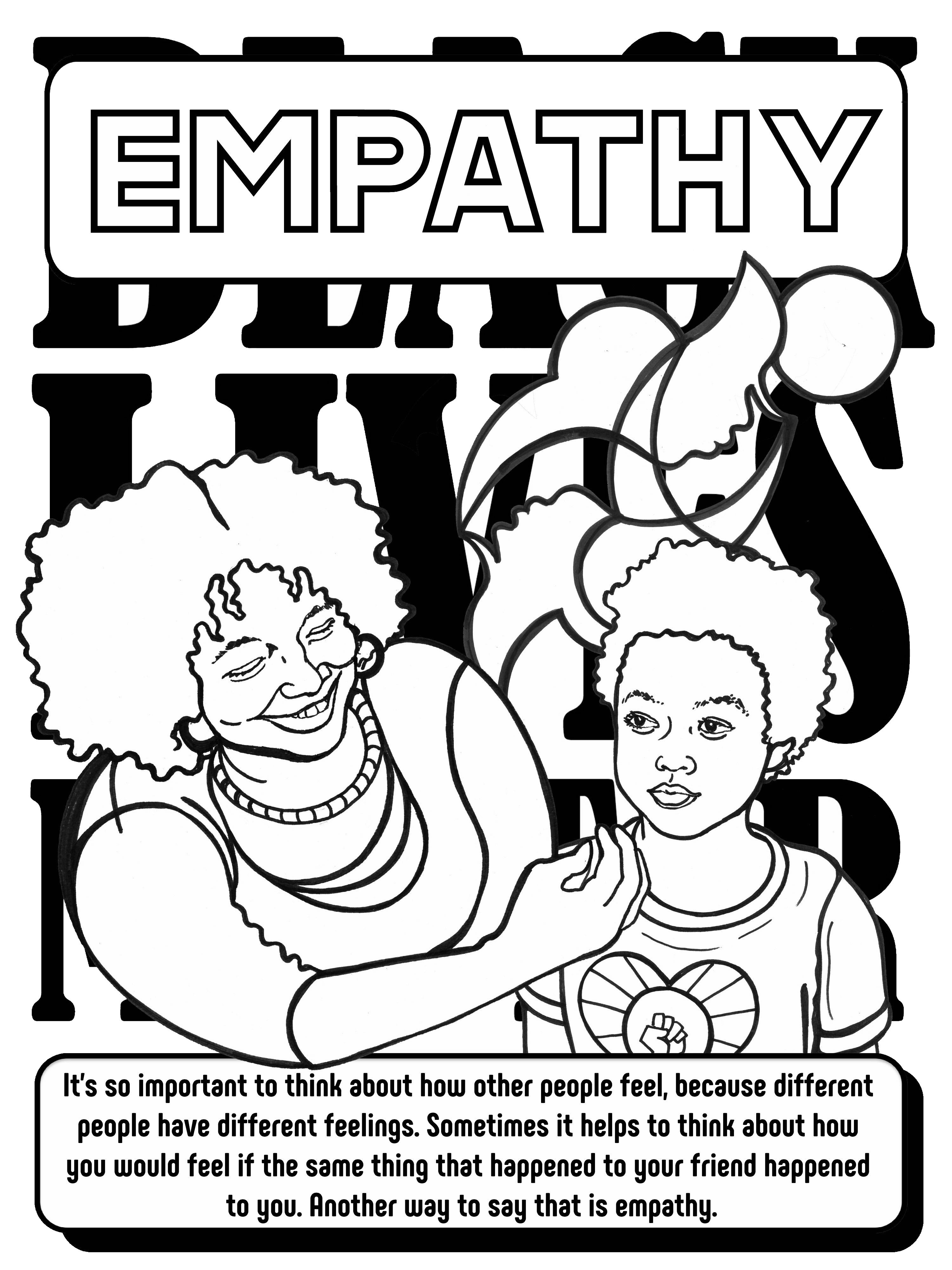 The Black Lives Matter At School Coloring Book–Make this
