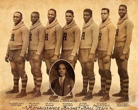 1st Black Pro Basketball Team The New York Renaissance