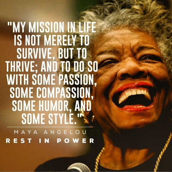 7 Quotes Maya Angelou Favorite