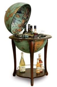 globe liquor cabinet | Black Maps: science + politics ...
