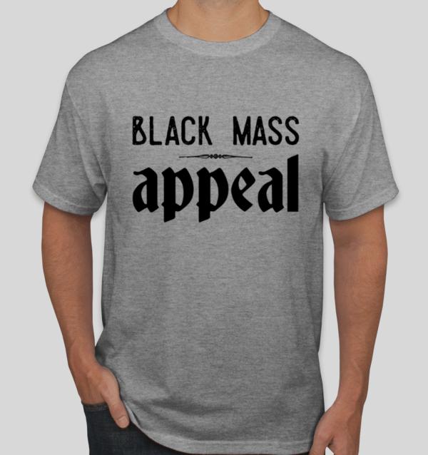 Black Mass Appeal logo tee